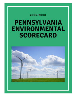 2007-2008 Pennsylvania Scorecard