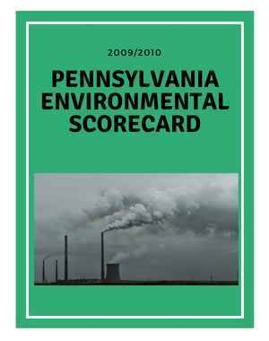 2009-2010 Pennsylvania Scorecard