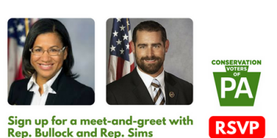 Sign up for a meet-and-greet with Rep. Bullock and Rep. Sims