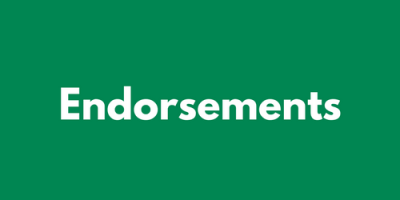 Endorsements